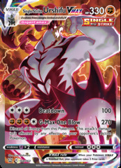 Single Strike Urshifu VMAX - 168/163 - Secret Rare