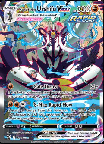 Rapid Strike Urshifu VMAX - 170/163 - Secret Rare