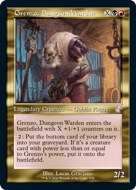 Grenzo, Dungeon Warden - Foil