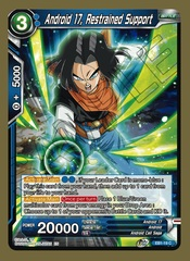 Android 17, Restrained Support - EB1-19 - C - Foil