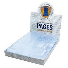 Beckett Shield - 9 Pocket Page Binder