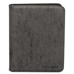 Ultra Pro - Zippered 9-Pocket Premium PRO-Binder - Suede Collection: Jet