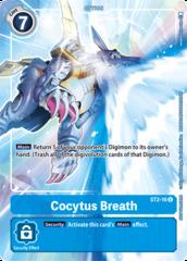 Cocytus Breath - ST2-16 (Tamer's Evolution Box)