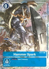 Hammer Spark - ST2-13 (Tamer's Evolution Box)