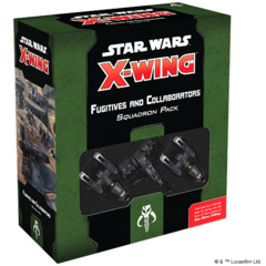 Star Wars X-Wing - 2nd Edition - Fugitives and Collaborators Squadron Pack