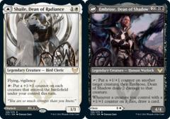 Shaile, Dean of Radiance // Embrose, Dean of Shadow - Foil