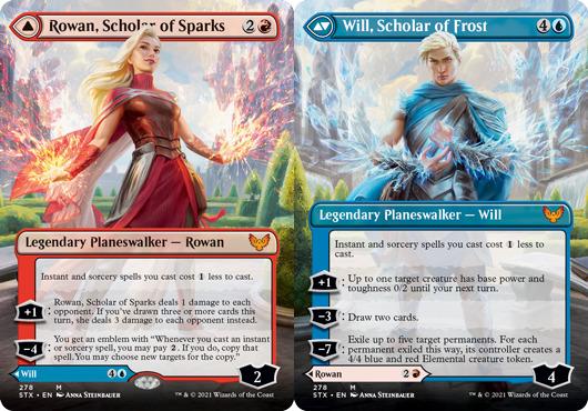 Rowan, Scholar of Sparks - Borderless - Foil