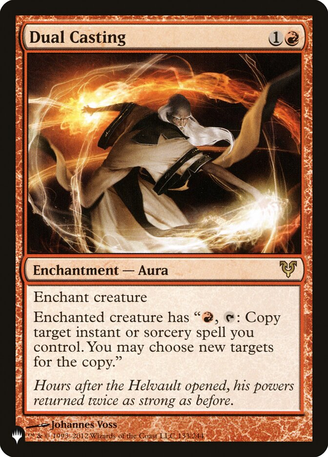 Dual Casting - The List