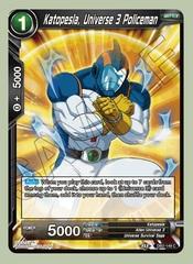 Katopesla, Universe 3 Policeman (Reprint) - DB2-149 - C
