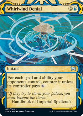 Whirlwind Denial - Foil