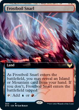 Frostboil Snarl - Foil - Extended Art