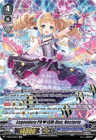 Legendary PRISM-Duo, Nectaria - V-SS08/SP10EN - SP