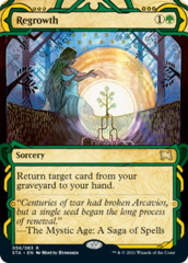 Regrowth - Foil Etched