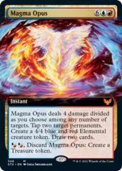 Magma Opus - Foil - Extended Art