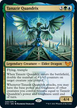 Tanazir Quandrix - Foil