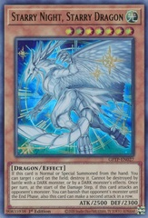 Starry Night, Starry Dragon - GFTP-EN027 - Ultra Rare - 1st Edition