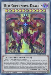 Red Supernova Dragon - GFTP-EN045 - Ultra Rare - 1st Edition