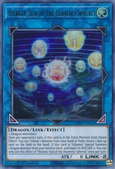 Hieratic Seal of the Heavenly Spheres - GFTP-EN053 - Ultra Rare - 1st Edition
