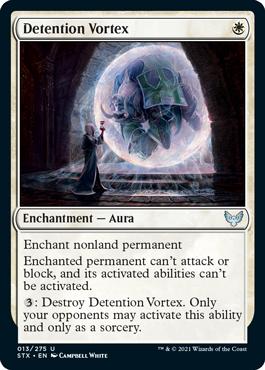 Detention Vortex - Foil