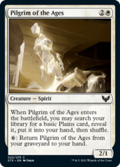 Pilgrim of the Ages - Foil