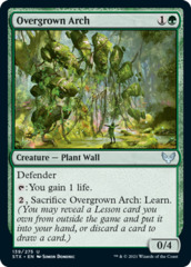 Overgrown Arch - Foil