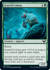 Scurrid Colony - Foil