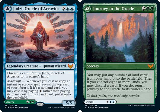 Jadzi, Oracle of Arcavios // Journey to the Oracle