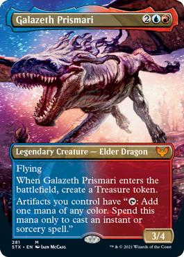 Galazeth Prismari - Foil - Borderless