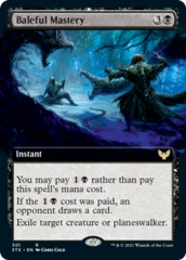 Baleful Mastery - Extended Art