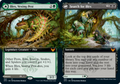 Blex, Vexing Pest // Search for Blex - Foil - Extended Art