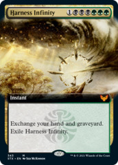 Harness Infinity - Foil - Extended Art