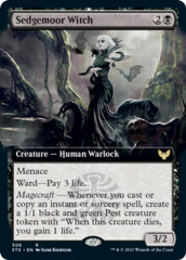 Sedgemoor Witch - Foil - Extended Art