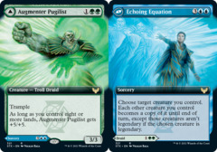 Augmenter Pugilist // Echoing Equation - Foil - Extended Art