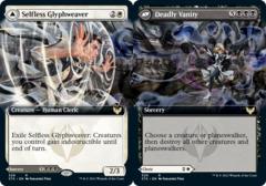 Selfless Glyphweaver // Deadly Vanity - Extended Art