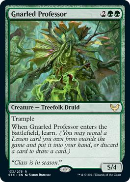 Gnarled Professor
