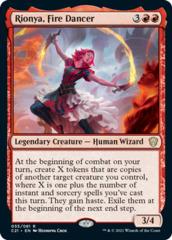 Rionya, Fire Dancer