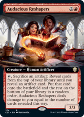 Audacious Reshapers - Extended Art