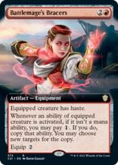 Battlemage's Bracers - Extended Art