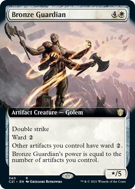 Bronze Guardian - Extended Art