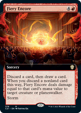 Fiery Encore - Extended Art