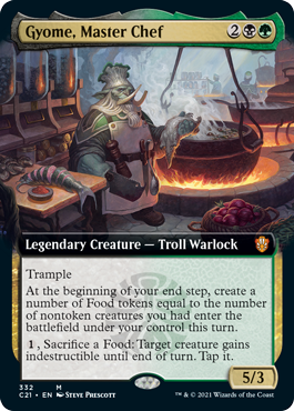 Gyome, Master Chef - Extended Art
