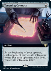 Tempting Contract - Extended Art