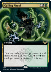Culling Ritual - Extended Art