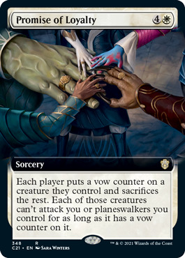 Promise of Loyalty - Extended Art