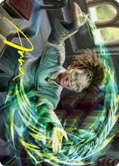 Eureka Moment Art Card - Gold-Stamped Signature