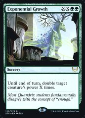 Exponential Growth - Foil - Prerelease Promo