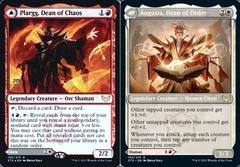 Plargg, Dean of Chaos // Augusta, Dean of Order - Foil - Prerelease Promo
