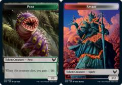 Pest Token // Spirit Token - Foil