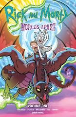 Rick & Morty Worlds Apart Tp (MR) (STL186915)