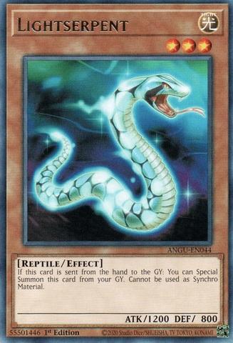 Lightserpent - ANGU-EN044 - Rare - 1st Edition